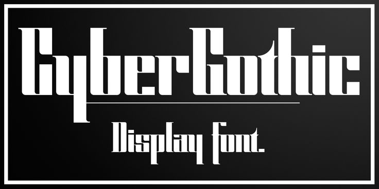 This is my new font! An overly geometrized calligraphic font. Good for display, unique.