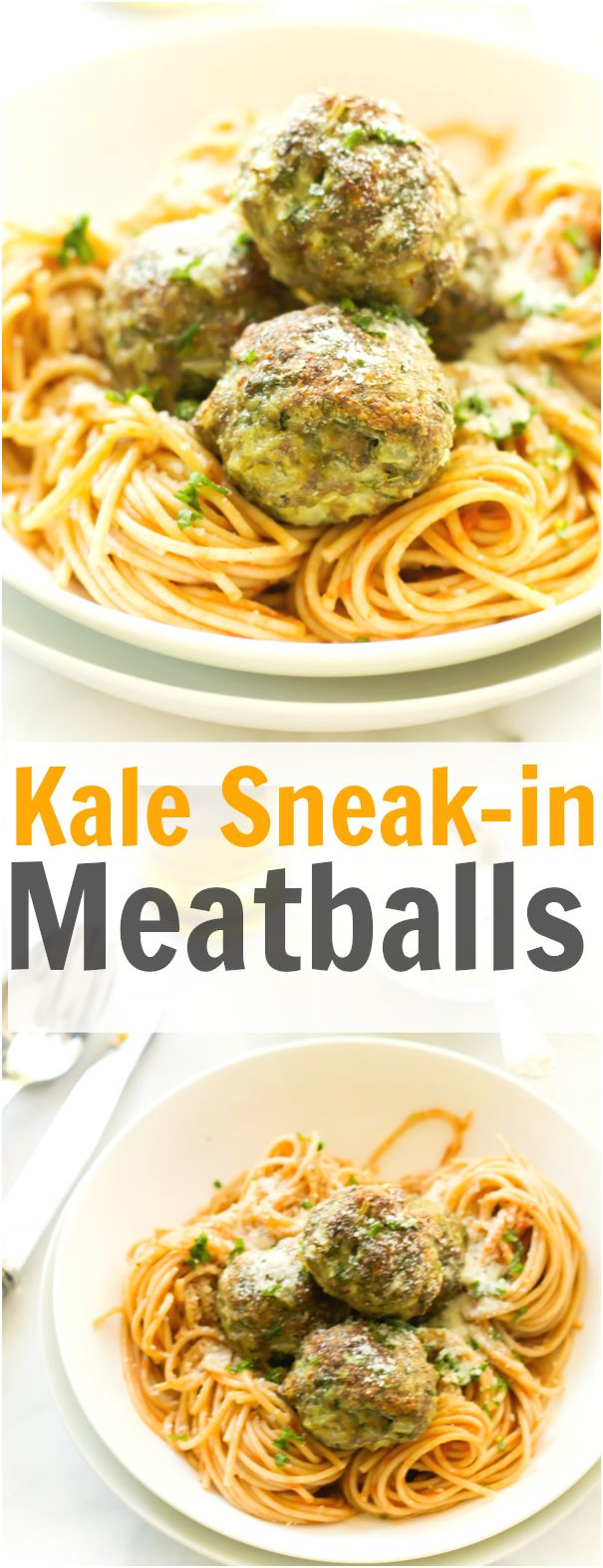 The Kale Sneak in Meatballs recipe is great to have healthier nutrients in your meal. You also can eat them on their own or with spaghetti and tomato sauce. primaverakitchen.com