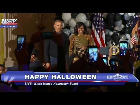 Watch: The Obamas rock to Michael Jackson's 'Thriller' at White House Halloween party | Latest News & Updates at Daily News & Analysis