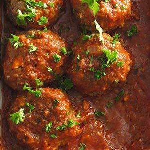 Turkse gehaktballen in tomatensaus - Recept - Allerhande - Albert Heijn
