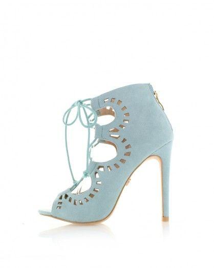 Světle modré sandály Eliana