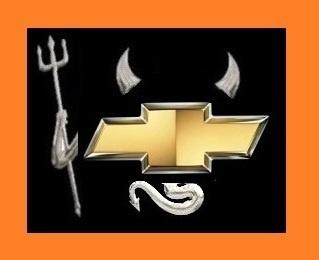 $8.75 3D CHROME DEVIL DECAL HORNS TAIL DEMON CAR AUTO STICKER EMBLEM LOGO 007 CH