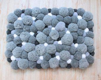 Tapis de chambre à coucher Pom Pom tapis par PomPomMyWorld