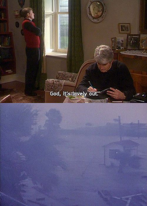 When Irish weather was perfectly summed up.