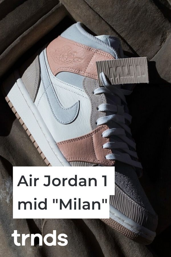 The Air Jordan 1 Mid Milan Is Inspired By Classic Italian Architecture Trnds In 2020 Air Jordans Jordan 1 Mid Jordan 1