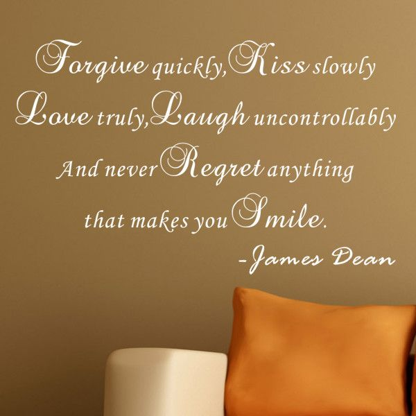 Never Regret Anything That Made You Smile Quote Tattoo: 17 Best James Dean Quotes On Pinterest