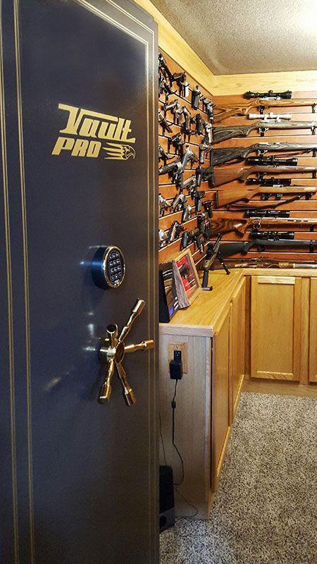 Inswing Vault Door To Hidden Vault Room Reloading Bench