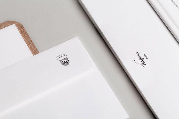 DESIGN INSPIRATION   HOTEL TROFANA ALPIN BRANDING #branding #graphic #design #inspiration