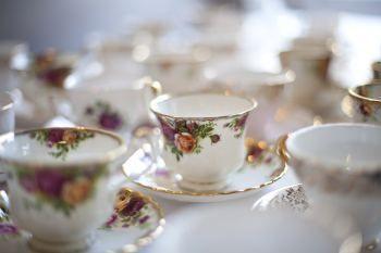victorian wedding theme ideas, victorian teacup