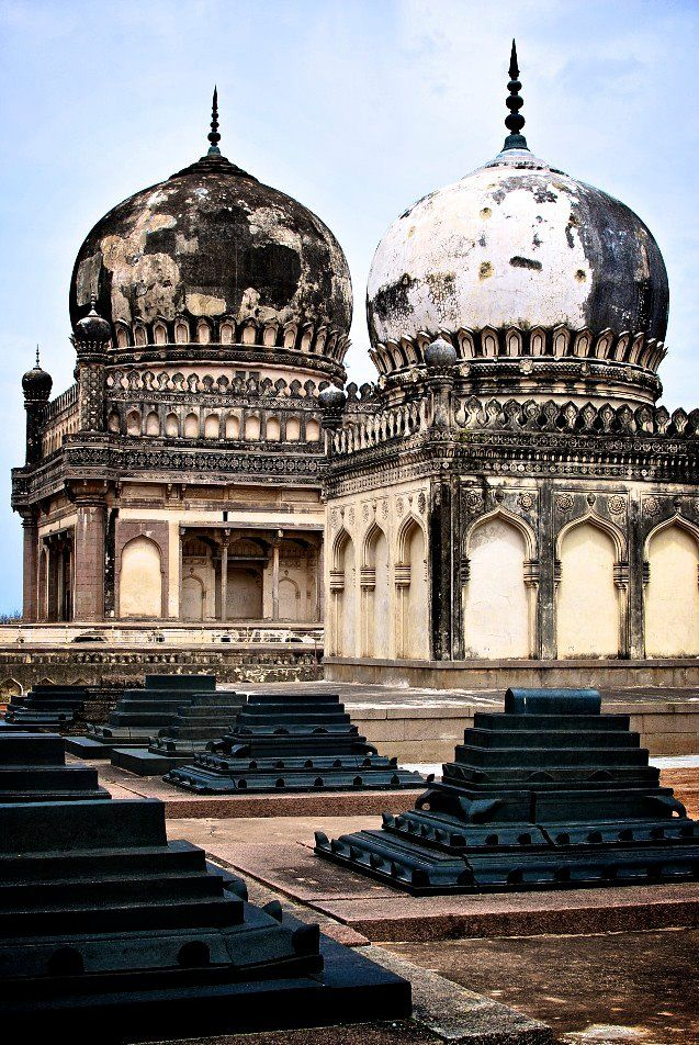 Qutb Shahi Tombs, the burial ground of the seven kings of the Qutb Shahi dynasty / Hyderabad, India
