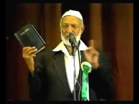 Ahmed Deedat - Christianity Judaism or Islam - English FULL - Action Town Hall, London - YouTube