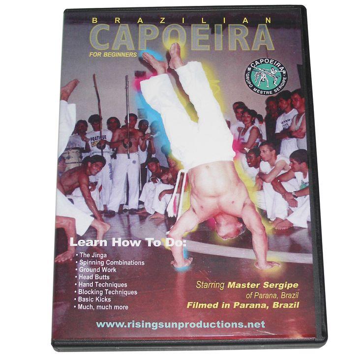 Brazilian Capoeira Fighting Martial Arts DVD Sergipe Jinga spinning combos