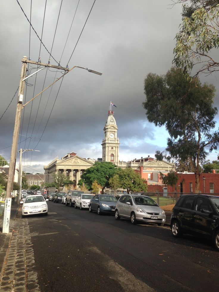 A quick snap of #Fitzroy Town Hall!