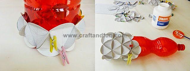 Riciclo Creativo - Craft and Fun: Coprivaso: Riciclo Creativo Carta e Cartone
