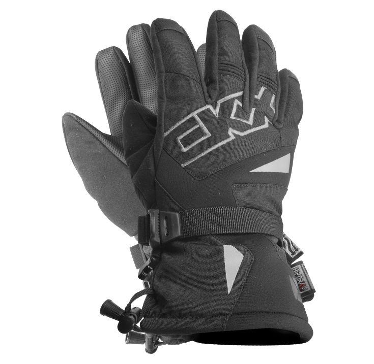 CKX 2016 - Gloves - TECHNOFLEX JUNIOR Black - ckxgear.com