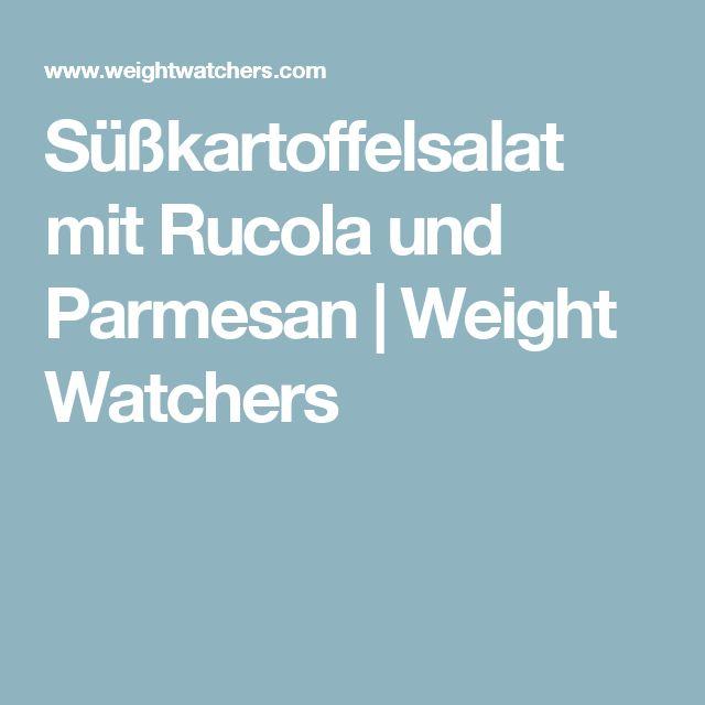 Süßkartoffelsalat mit Rucola und Parmesan   Weight Watchers