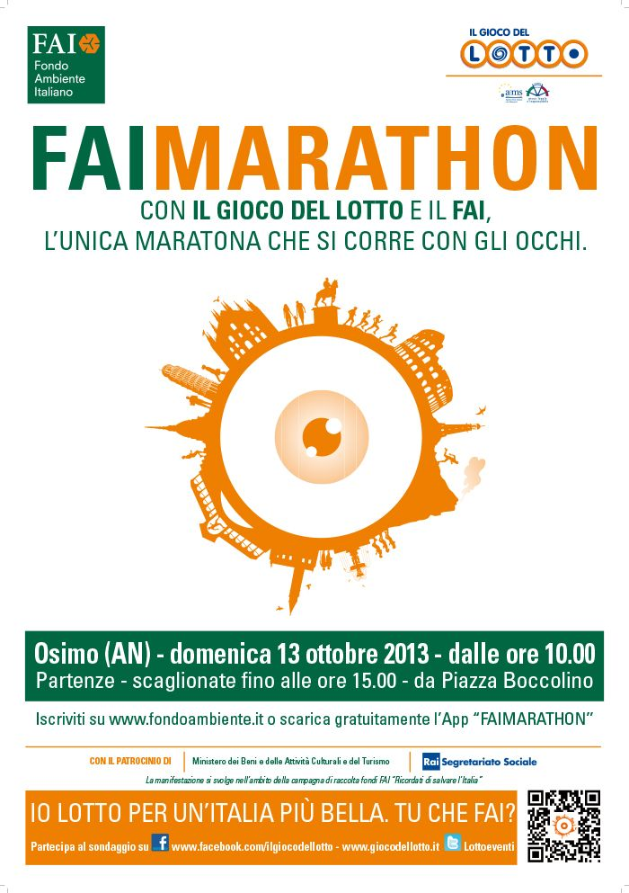 #Faimarathon ad Osimo