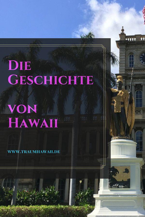 Die Geschichte von Hawaii Du bist an einem neuen Ort, erkundest die Natur, lernst die Menschen und einen gewissen Teil der Kultur kennen. Und auf dem Weg nach Hause möchtest Du mehr über die Vergangenheit wissen. Wie ist es entstanden? Wieso ist dies oder jenes jetzt genau so? Um Dir diese Frage über Hawaii zu ersparen, möchte ich Dir die Geschichte von Hawaii näher bringen. Tauche mit mir gemeinsam in die Vergangenheit dieser wunderschönen Inselkette. #traumhawaii www.traumhawaii.de