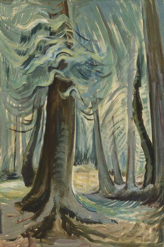 Deep Forest, Lighted, 1935, Emily Carr. VAG