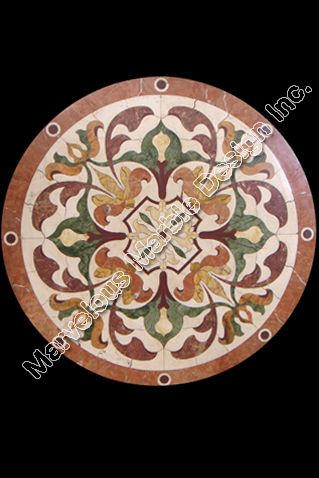 15 Best Images About Round Marble Medallions On Pinterest