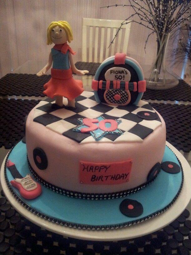 41 best 50s cake images on Pinterest Conch fritters Birthdays