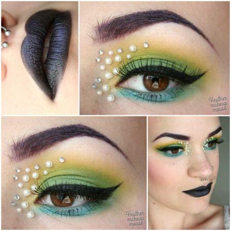 Makeup As Art - Dark Heart - Freshwater https://www.makeupbee.com/look.php?look_id=89709heather m