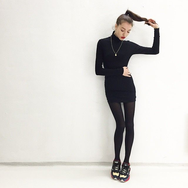"2,162 Likes, 35 Comments - Bronislava Banikova (@bronislavka) on Instagram: ""I would ask myself for a date bcs of my shoes"""
