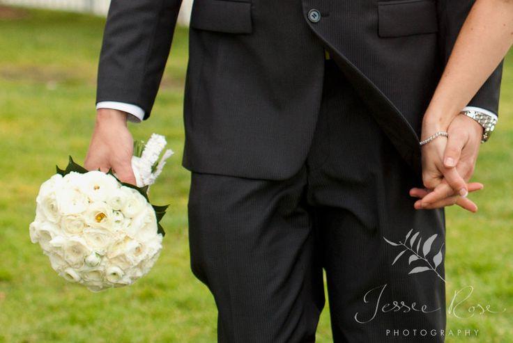 Ash & Rob @ Jessie Rose Photography #wedding #springwedding #photography #weddingphotography #jessierosephotography #bride #groom #hands #bouquet