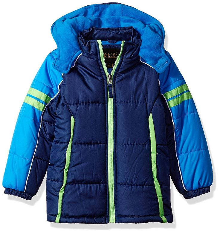 iXtreme Boys' Space Dye Print Colorblock Gwp Puffer Top 10 Best Toddler Boy Winter Coats  #toddler #wintercoat #jacketforkids