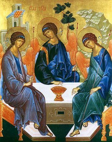 "IC.XC__Αγ.Τριαδα "" η φιλοξενεια του Αβρααμ"""