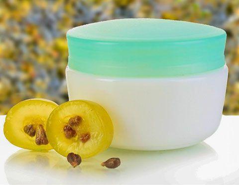 Creme mit Traubenkernöl sensible Haut
