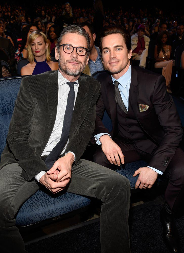 Pin for Later: The Best People's Choice Awards Moments You Didn't See on TV  Matt Bomer and his husband, Simon Halls, looked cute in the audience.