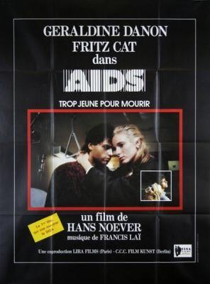"""Aids"" de Hans Noever avec Géraldine Danon, Fritz Graner, Arnim, Oliver Rohrbeck, Claudia Arnold. Allemagne. 1986"