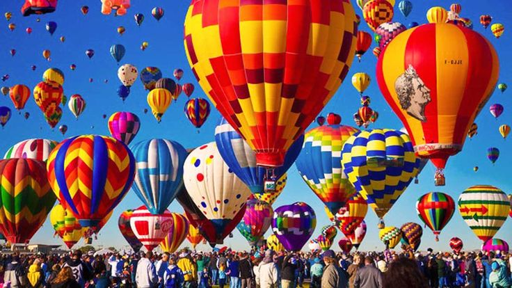Este magnífico festival pinta el cielo de vibrantes y hermosos colores