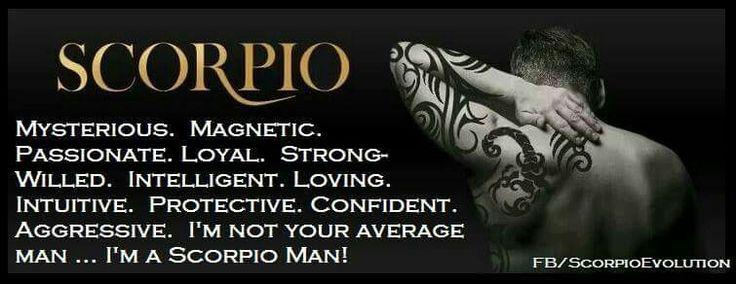 Scorpio Man Characteristics