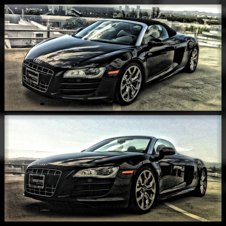 Audi R10 Convertible awaits you o rent from @starrautorentals today.... Just log onto www. Starrautorentals.com at the best rates in Beverly Hills, Los Angeles, Hollywood, Malibu and Santa Monica to name a few few nearby cities.
