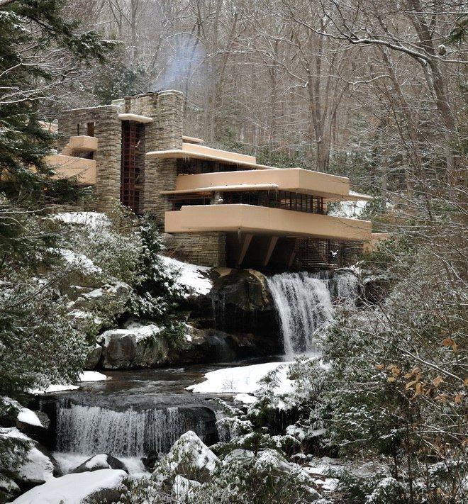дом над водопадом фрэнка ллойда райта фото того, техническое задание