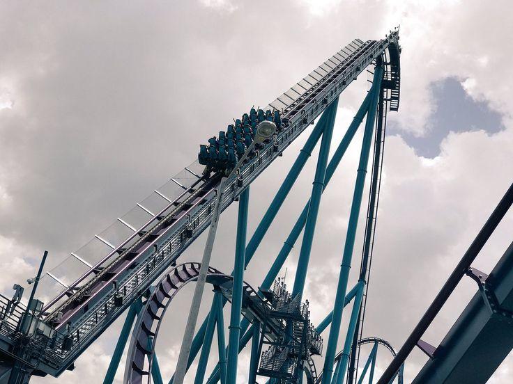 Mako, Seaworld Orlando, my new favorite rode it 11 times