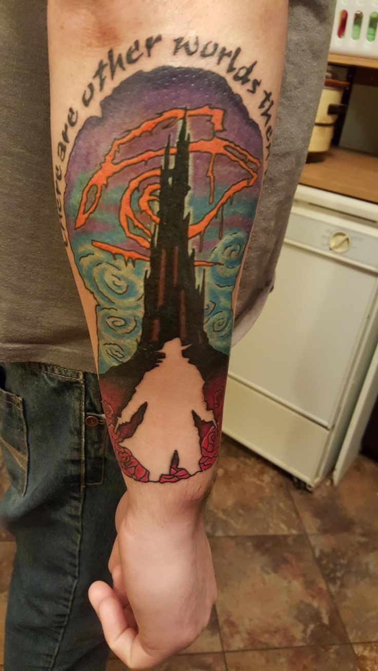 Dark Tower Tattoo.                                                                                                                                                                                 More