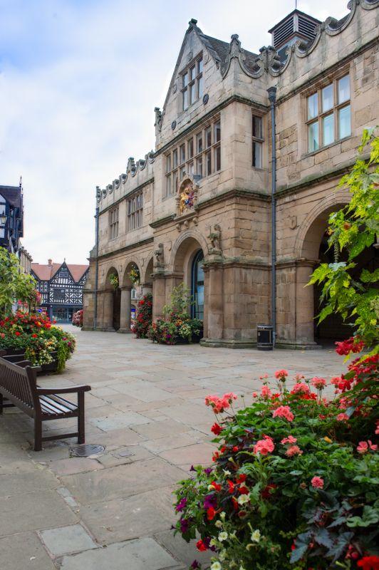The Square, Shrewsbury England