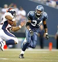 Terreal Bierria (born October 10, 1980 in Slidell, Louisiana) is a former safety in the NFL. He was a fourth round pick out of the University of Georgia in 2002. He played two seasons for the Seattle Seahawks in 2002 and 2004, starting twelve games in 2004 for a defense that ranked 23rd in the NFL against the pass. He was cut after he left training camp to help families members trapped by Hurricane Katrina.