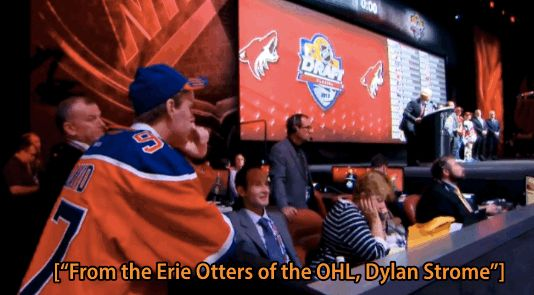 McDavid wanting to watch best friend, Dylan Strome, be drafted #2