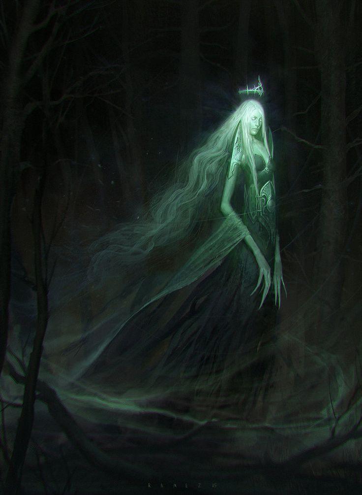 Cecil, Geist der Seelen, Beschützerin der Toten, Wegweiser der Verlorenen, Gattin von Qu'an, Mutter der Amarathea