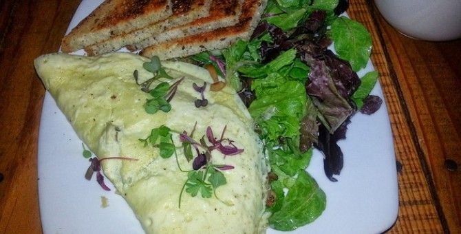 Spinach and Mushroom Omelet for all ages