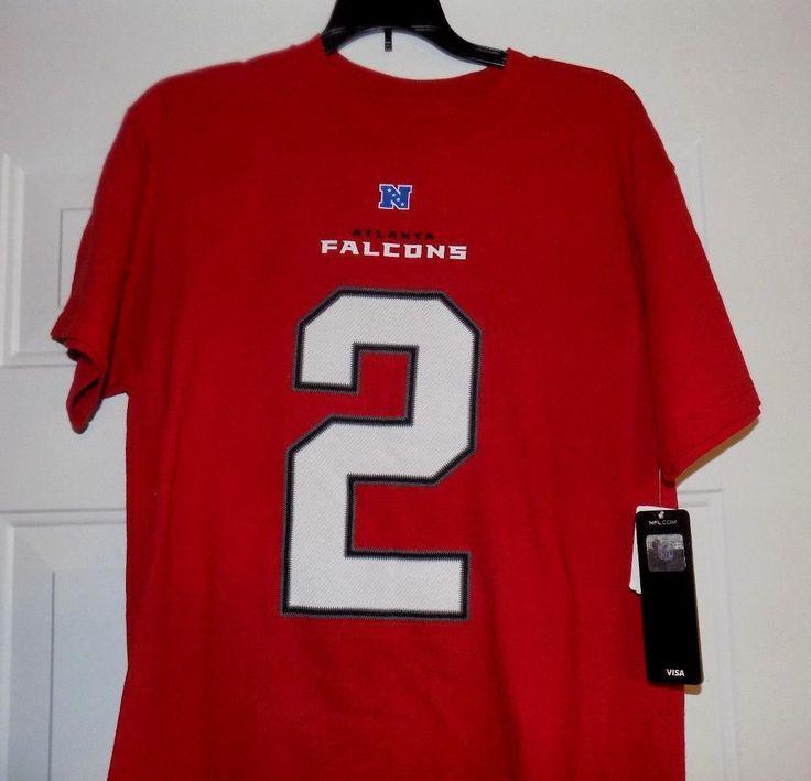 ATLANTA FALCON NFC SOUTH Football NFL Team Pro Football Men's Medium Shirt NEW