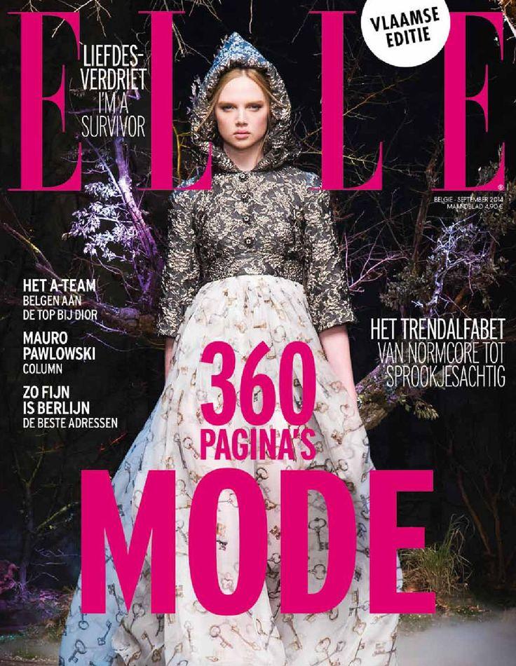 ELLE België nr.133 - September 2014  ELLE België nr.133 - E-magazine - September 2014