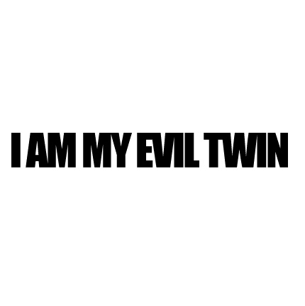 "As I promised myself to live more randomly and push away my stoic and careful behavior, I gave birth to my ""Evil Twin."" -- Nicky Young on not settling."