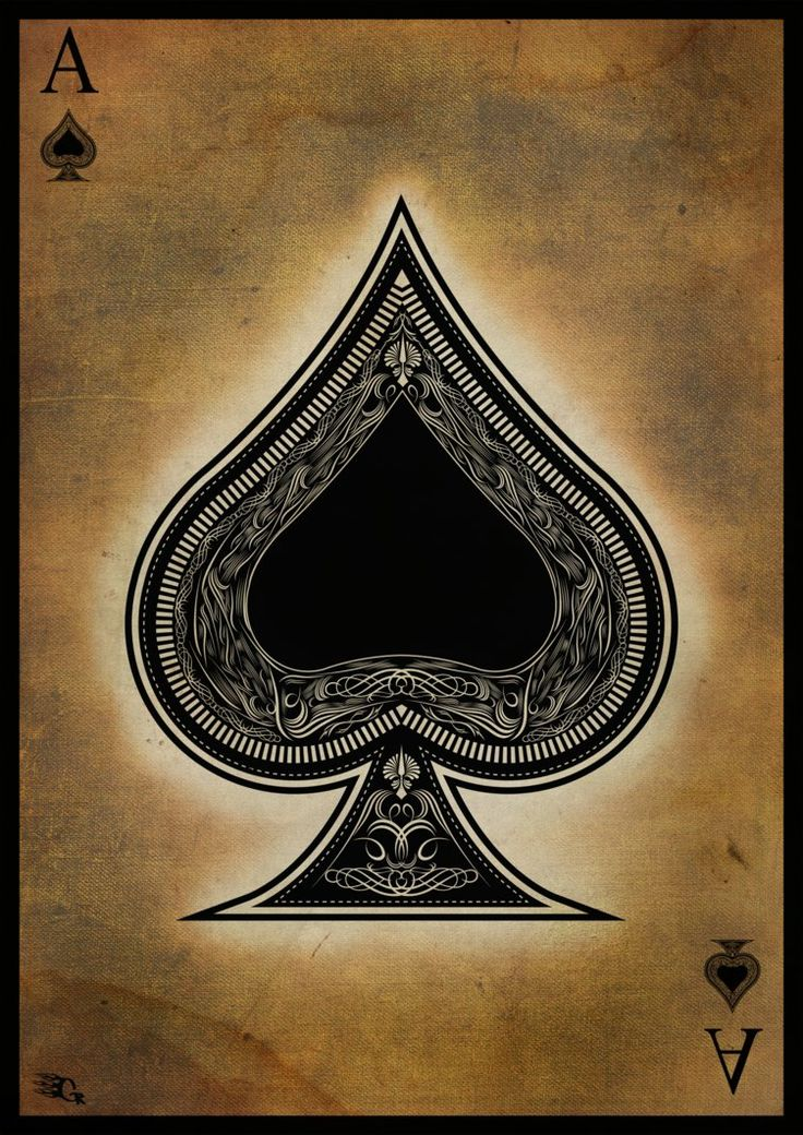 Ace of spades on the white ladies ass 2