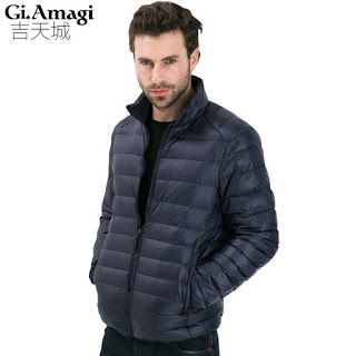 2016 Autumn Winter Duck Down Jacket Ultra Light Thin plus size winter jacket for men Fashion mens Outerwear coat (32415544479)  SEE MORE  #SuperDeals
