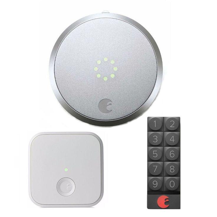 August Smart Lock and Smart Keypad